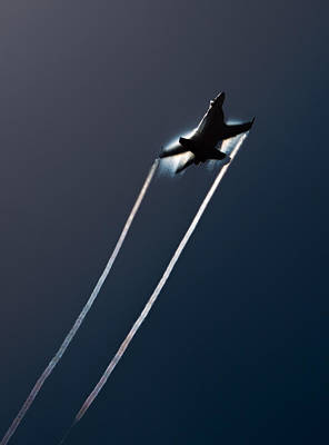 Shockwave Photograph - Ascending To The Heavens by John Daly
