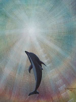 Painting - Ascending To The Light by Thomas F Kennedy