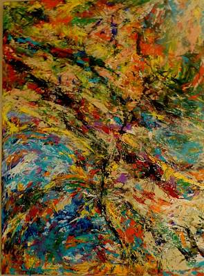 Painting - Ascension Abstraction by Barb Greene mann
