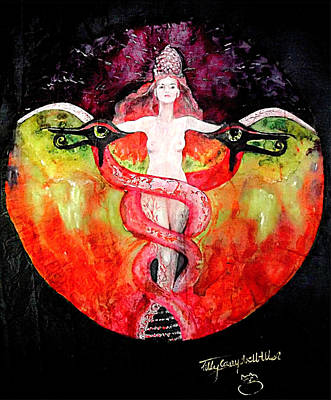 Ascension Of Lilith  Art Print