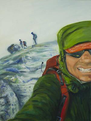 Ascent To Mt. St. Helens Original