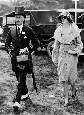 Ascot Photograph - Ascot Racecourse, 1926 by Granger