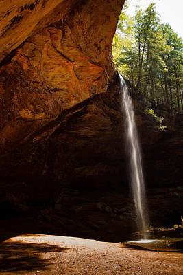 Photograph - Ash Cave Rim by Haren Images- Kriss Haren