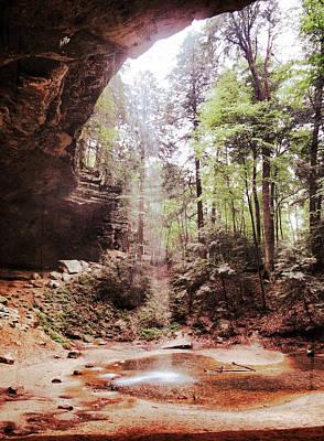 Photograph - Ash Cave Waterfall by Patricia Januszkiewicz