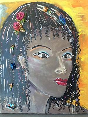 Mixed Media - Ashanti by Karen Carnow