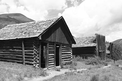 Ashcroft Ghost Town Art Print by Eric Glaser