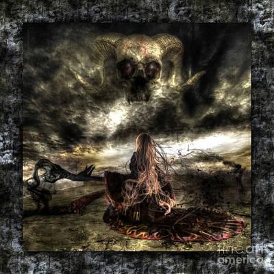 Elisabetta Artusi Digital Art - Ashes To Ashes by Betta Artusi
