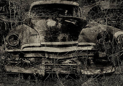 Mixed Media - Ashes To Ashes Dust To Dust by Jim Vance