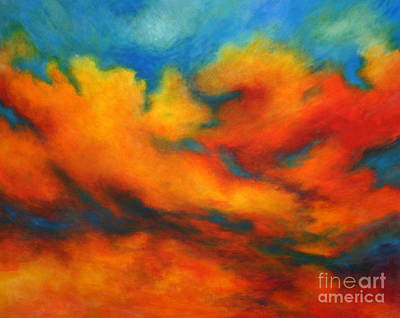 Ashes Within Art Print by Alison Caltrider
