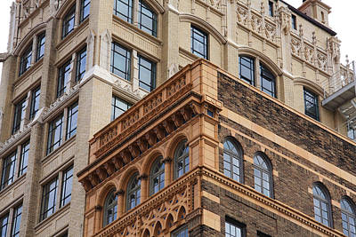 Photograph - Asheville Architecture by Melinda Fawver