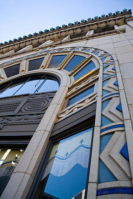 Photograph - Asheville Art Deco Architecture by Melinda Fawver