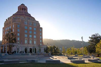 Photograph - Asheville Civic Center by Melinda Fawver