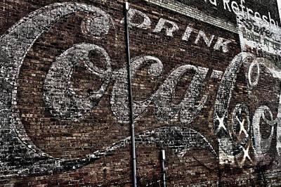 Asheville Coke Series 1 Art Print by Brandon Addis