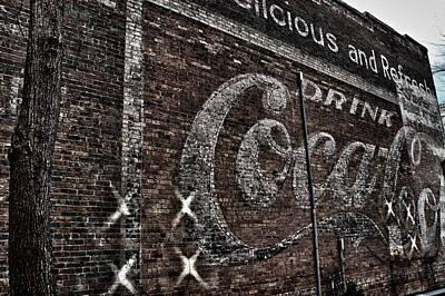 Asheville Coke Series 3 Art Print by Brandon Addis