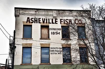 Asheville Fish Co Art Print by Brandon Addis