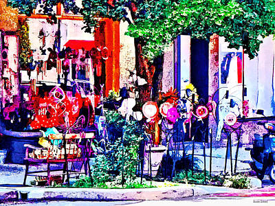 Photograph - Asheville Nc - Gift Shop by Susan Savad