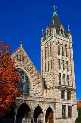 Photograph - Asheville United Methodist Church by Melinda Fawver