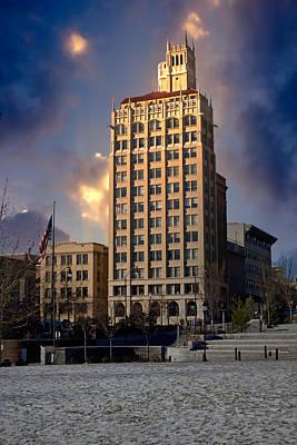 Photograph - Ashevilles Jackson Building by John Haldane