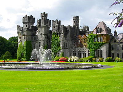 Photograph - Ashford Castle by Denise Mazzocco