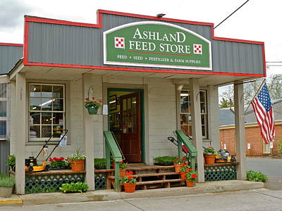 Photograph - Ashland Feed Store by Jean Wright