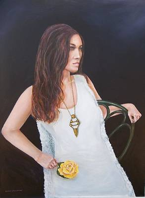 Painting - Ashley...the Model by Robert Harrington