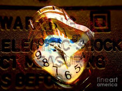 Ashok Clock Art Print by R Kyllo