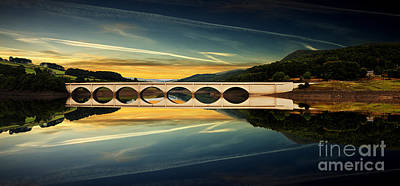 Ashopton Reflections  Art Print by Nigel Hatton