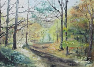 Ashridge Woods 2 Art Print