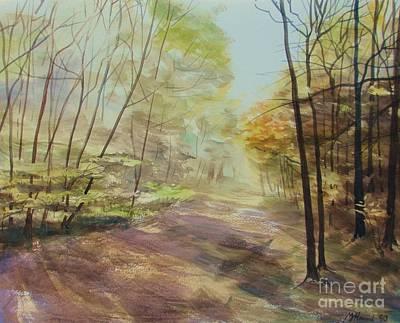 Most Popular Painting - Ashridge Woods by Martin Howard