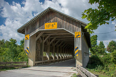 Photograph - Ashtabula Collection - Caine Road Bridge 7k0213 by Guy Whiteley