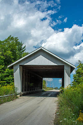 Photograph - Ashtabula Collection - Giddings Road Covered Bridge 7k02044 by Guy Whiteley