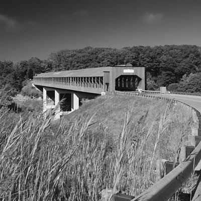 Photograph - Ashtabula Collection - Smolen-gulf Bridge 7k01986b by Guy Whiteley
