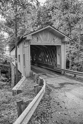 Photograph - Ashtabula Collection - Warner Hollow Bridge  7k02090 by Guy Whiteley
