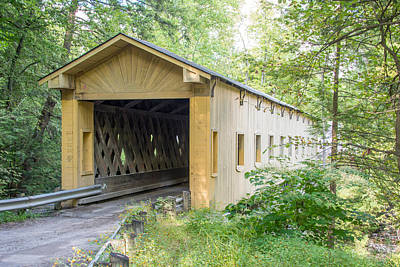 Photograph - Ashtabula Collection - Warner Hollow Bridge 7k02093 by Guy Whiteley