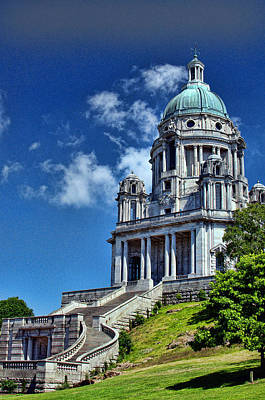 Photograph - Ashton Memorial by Graham Hawcroft pixsellpix