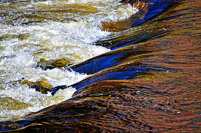 Photograph - Ashuelot River Flow by Mike Martin