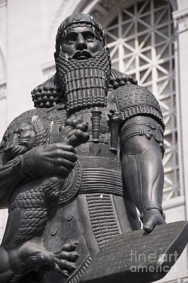 Photograph - Ashurbanipal The Lawgiver by Brenda Kean