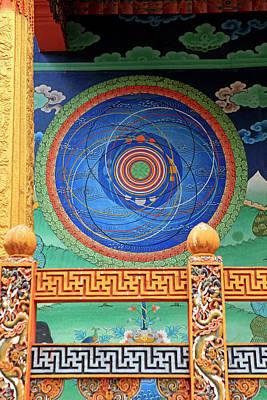 Mandala Photograph - Asia, Bhutan, Punakha by Kymri Wilt