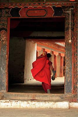 Asia, Bhutan, Wangdue Art Print