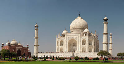Large Format Photograph - Asia, India Taj Mahal Multiframe by Brent Bergherm