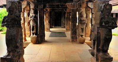 Asia, India, Tamil Nadu, Padmanabhapuram Art Print by Steve Roxbury