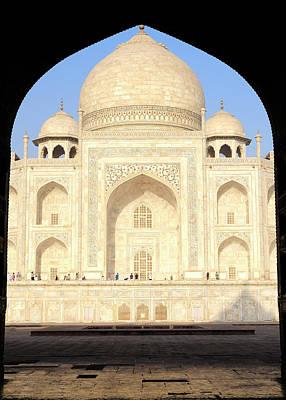 Tomb Photograph - Asia, India, Uttar Pradesh, Agra by Steve Roxbury