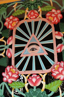 Asia, Vietnam Cao Dais Left Eye, Tay Art Print by Kevin Oke
