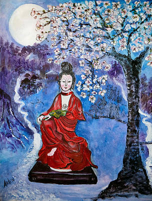 Asian Beauty Art Print