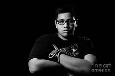 Kickboxer Photograph - Asian Boy by Mystique Asian