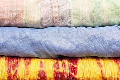 Asian Cloths Art Print