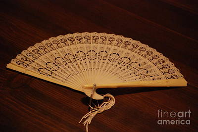 Photograph - Asian Fan by Mark McReynolds