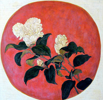 Tr Painting - Asian Floral by Tom Roderick