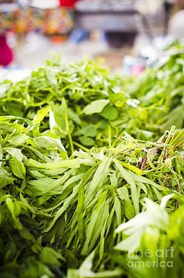 Asian Market Vegetable Print by Tuimages