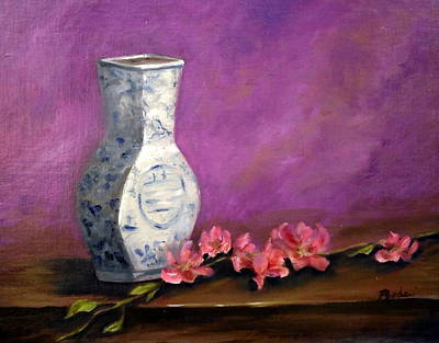 Asian Still Life Art Print